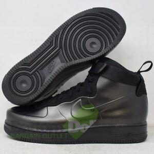 Nike-AH6771-001-Men-039-s-Air-Force-1-Foamposite-Cup-Shoes-Black-Black-Black-11