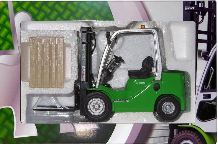 Ros 00146 CESAB 1:23 Scale CESAB 00146 b325 2.5 kg Forklift 44ce77