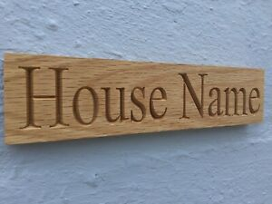 Personalised-Oak-House-Sign-Carved-Custom-Engraved-Outdoor-Wooden-Name-Plaque