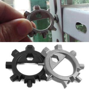 Multi Function 12 Screwdriver Function Key Ring Bike Adjust Tools Bottle Opener