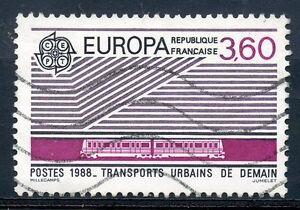 éNergique Stamp / Timbre France Oblitere N° 2532 Europa 1988 Transports Urbains De Demain