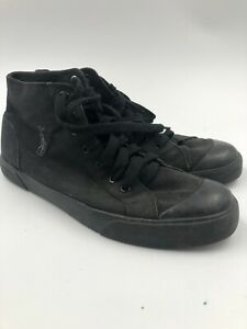 Canvas Sneakers Size 12D Black Mens   eBay