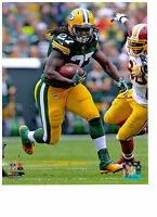 Eddie Lacy Authentic Action 8x10 Color Photo Green Bay Packers Nfl Hologram