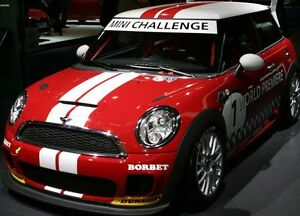 Mini Cooper Colors >> Details About Mini Cooper 2 Color Sport Stripes Stripe Decals Clubman Countyman All Yr Model