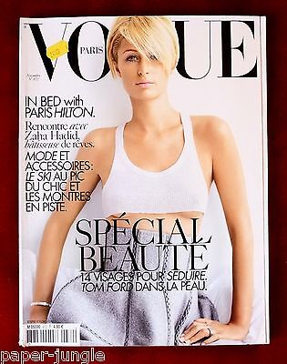 Vogue Paris ~ #872 November 2006 ~ Paris Hilton Iselin Steiro