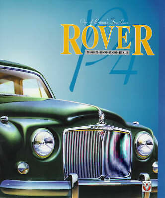 Rover P4 Series 60, 75, 80, 90, 100, 105, 110 by Malcolm Bobbitt (H/back, 1994)