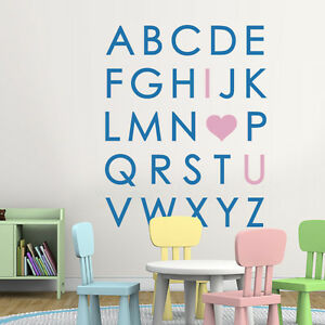 Fantastic Details About Kid Large Alphabet Wall Sticker Motivation Vinyl Art Baby Room Removable Decor Beatyapartments Chair Design Images Beatyapartmentscom