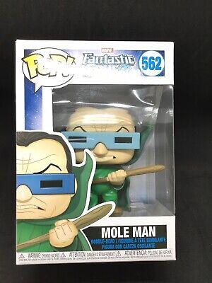 Vinyle Marvel Fantastique 4 Mole Man Bobble Head figurine #562 en Stock * Funko Pop