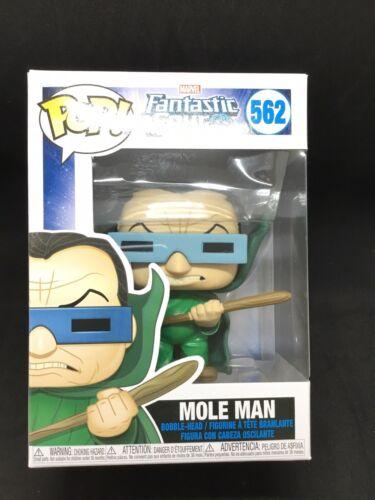 Vinyl Marvel Fantastic 4 Mole Man Bobble Head Figurine #562 IN STOCK* Funko Pop