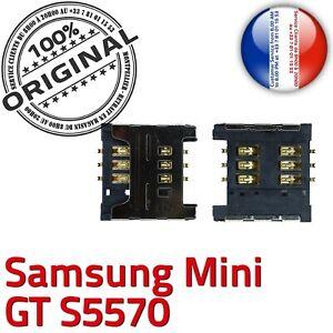 ORIGINAL-Samsung-Galaxy-Mini-GT-s5570-Connecteur-Carte-SIM-a-souder-Lecteur-SLOT