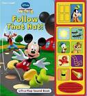 Mickey Mouse Follow that Hat: Lift and Listen by Renee Tawa (Board book, 2007)