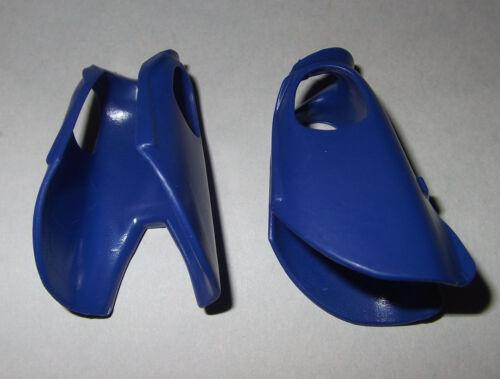 Reitermantel 06067 2x Mantel blau mit Aufschlag