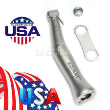 2pcs Dental 20 1ratio Implant Contra Angle Low Speed Handpiece AZDENT Fit Nouvag