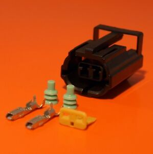 2-Way-Female-Econoseal-Electrical-Wiring-Multi-Connector-Genuine-AMP-Product