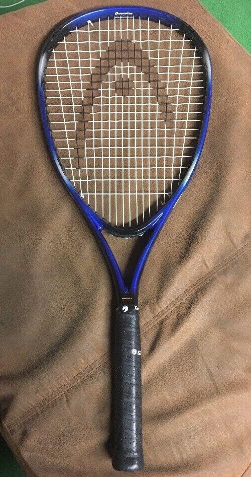 Cabeza LEYENDA OverTalla Raqueta De Tenis Raqueta Nuevo Grip  4 1 4 gran condición  ordenar ahora