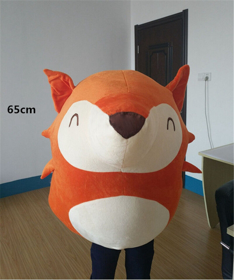 65cm Giant Big Softly Fox Plushly toys doll Stuffed Stuffed Stuffed Animal pillow kid Favor gift e5bf27