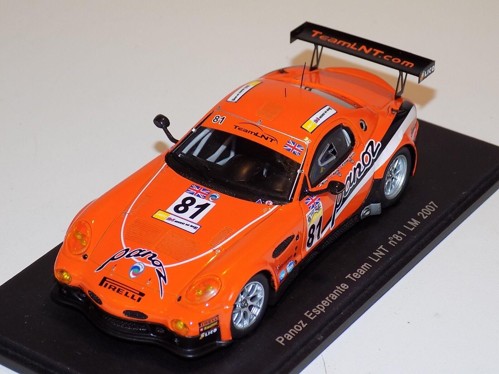 1 43 Spark Panoz Ligas GT  81 Lemans 2007 vatios Milner S1198 Kimber-Smith