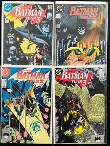Batman-Year-3-1-4-VF-complete-story-GEORGE-PEREZ-wolfman-436-437-438-439