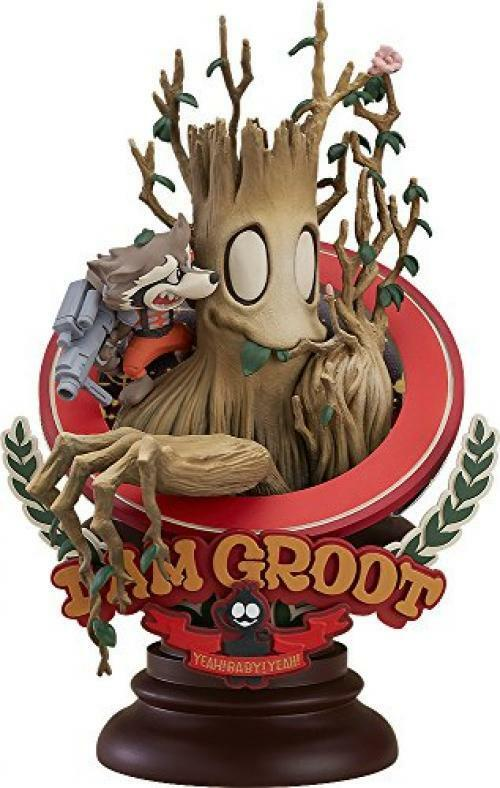 Neu Gute Lächeln Company Marvel Manga Variante - Groot Superlog Version