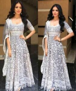 Salwar-Kameez-Suit-Indian-Pakistani-Designer-Dress-Shalwar-New-Party-Wear