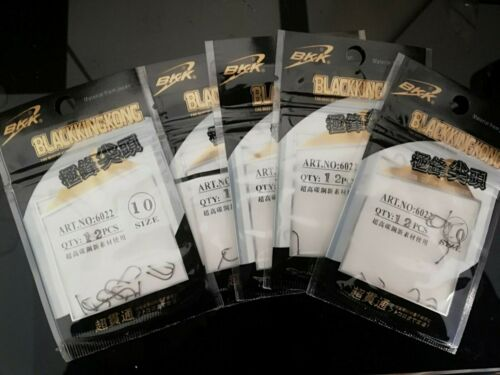 brand new 60 pcs 5 packs of size 10 trout hooks for using power bait