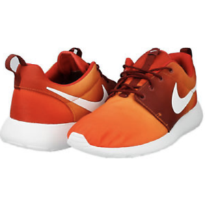 Nike Roshe Run/One Print Men's Trainers Running Shoes 655206 816 Orange Comfortable