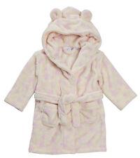 b8c10df49 Babytown Baby Boy Girl Fleece Dressing Gown Bath Robe Stars Hearts ...