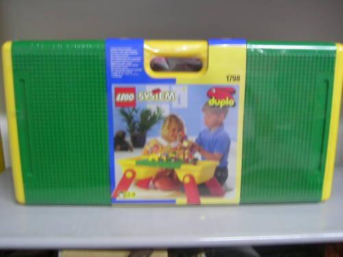LEGO 1798 SYSTEM DUPLO TAVOLO VALIGETTA CONTENITORE NUOVO