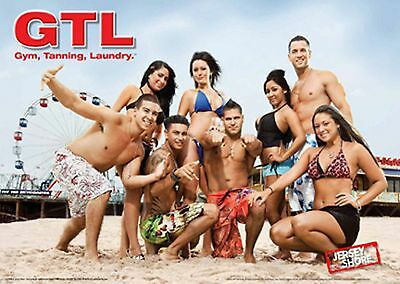 Hot Sexy Jersey Shore Pared Poster Chicos Y Chicas Bikini