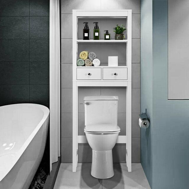 Cabinet Shelf Esaver Storage Toilet
