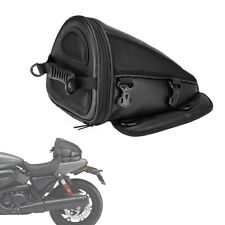 Motorcycle Backseat Saddle Bag Tail Bag Seatback Tool Bag Luggage Carry Bag