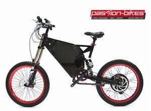 5000 W Enduro Bike 72 V Samsung Zellen - 80km/h+ Cross E-Bike
