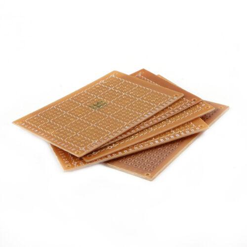 10pcs Bakelite Circuit Board DIY Prototype Single Side Copper PCB Board New
