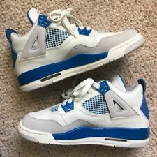 901ab351cc73 Buy 2006 Nike Air Jordan 4 Retro GS off White Military Blue Sz 5y ...