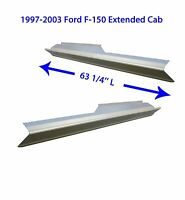 Extended Cab Ford Pickup F-150 1997-2003 Lh And Rh Outer Rocker Panels - 1 Pair