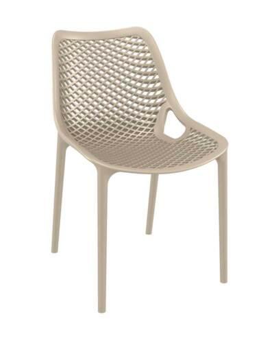 Stuhl Air Stapelstuhl stapelbar Gartenstuhl Küchenstuhl Kunststoff Modern