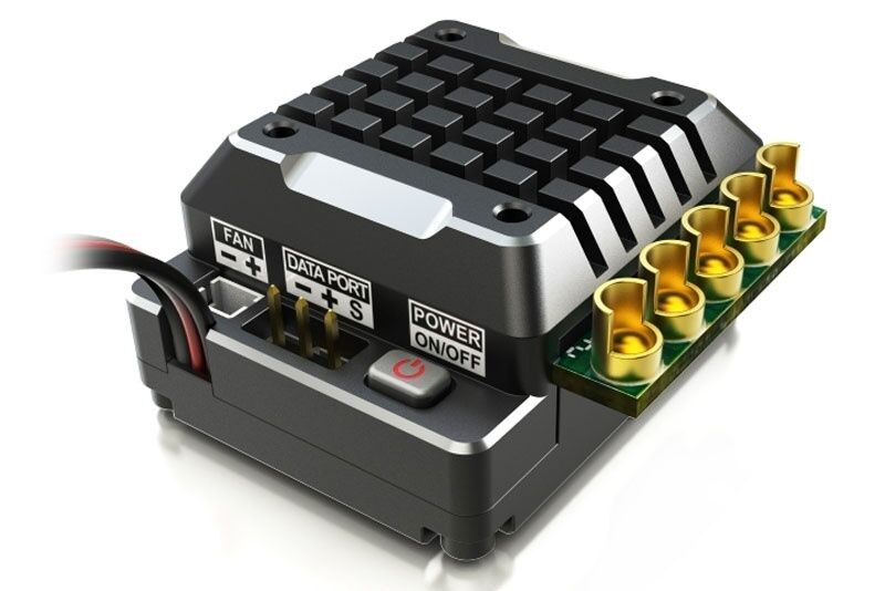 Skyrc viajes regulador toro ts120a para 1 10 2-3s lipo negro alu-sk300062-02