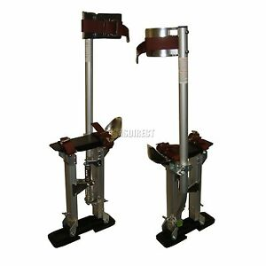 FoxHunter-Quality-Builders-24-034-to-40-034-Stilts-Drywall-Plastering-Aluminium-New