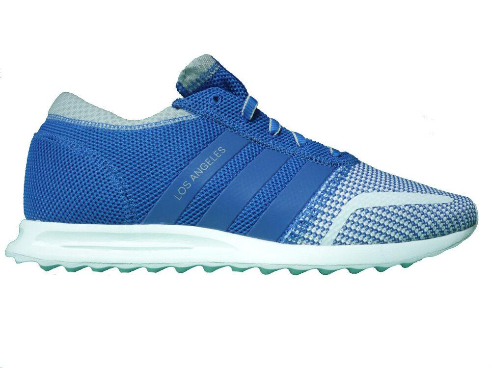 Adidas Originals Los Angeles Sneaker Chaussures Hommes Bleu-