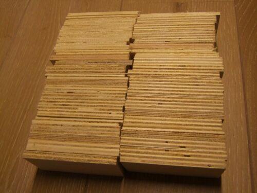 Ausgleichsplatten,Unterlegmaterial,Fensterkeile 3-10mm 60 Stk.Unterlegplatten