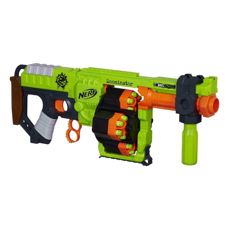 Helt ny NERF Zombie Strike DOOMINATOR Dkonst Blaster
