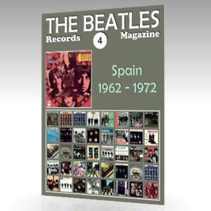 The-Beatles-registros-Revista-N-4-Espana-1962-1972-guia-de-color-completo