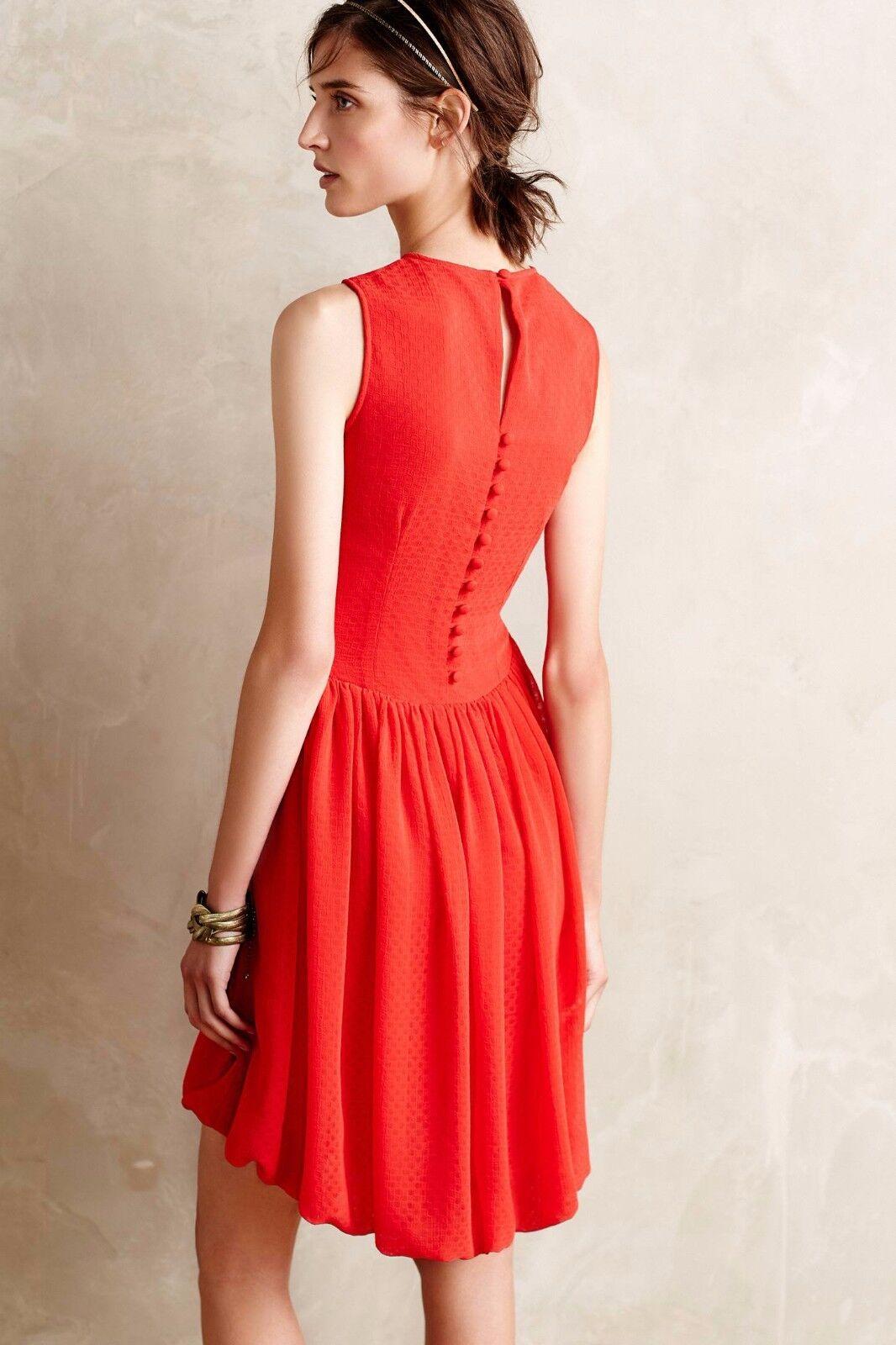 NWT Anthropologie Crimson Fizz Dress Dress Dress 5f7e8e