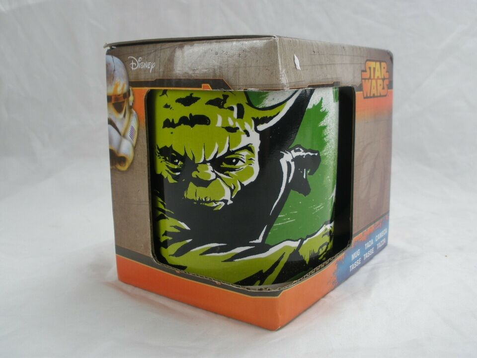 Porcelæn, Yoda Samler Krus, Star Wars
