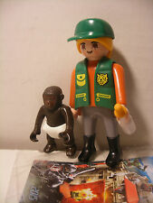 playmobil ZOO Veterinaire bebe Singe inedit edition speciale QUICK FRANCE Neuf