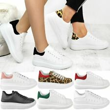 Ash Addict Leather Mesh Low-top Lace-up