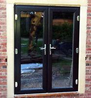Upvc Sliding Patio Doors White Oak Mahogany Rosewood Made To Measure Ebay