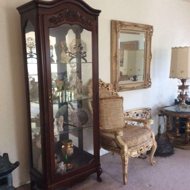 Antique Jasper Curio Cabinets | Tyres2c