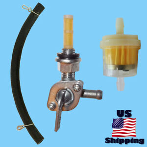 Petcock Fuel Filter Line for Champion ST07FD-107-0006 122.070400.05A Fuel Valve