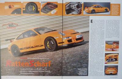 ' 07 Porsche 997 Gt3 Rs In 1-12 Di Autoart... Un Modello Relazione #2008-mostra Il Titolo Originale